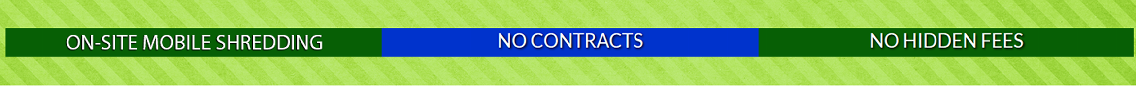No Contracts / No Hidden Fees